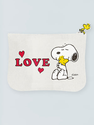SNOOPY + WOODSTOCK POUCH
