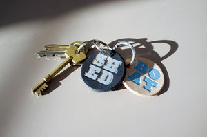 DANDY STAR SHED KEY RING