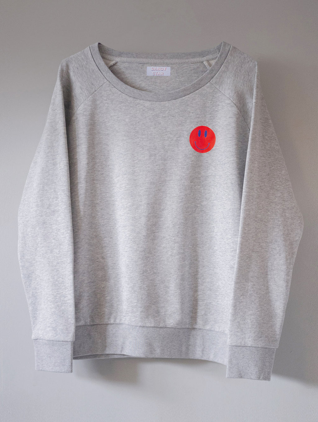 SMILEY MARL SWEATSHIRT
