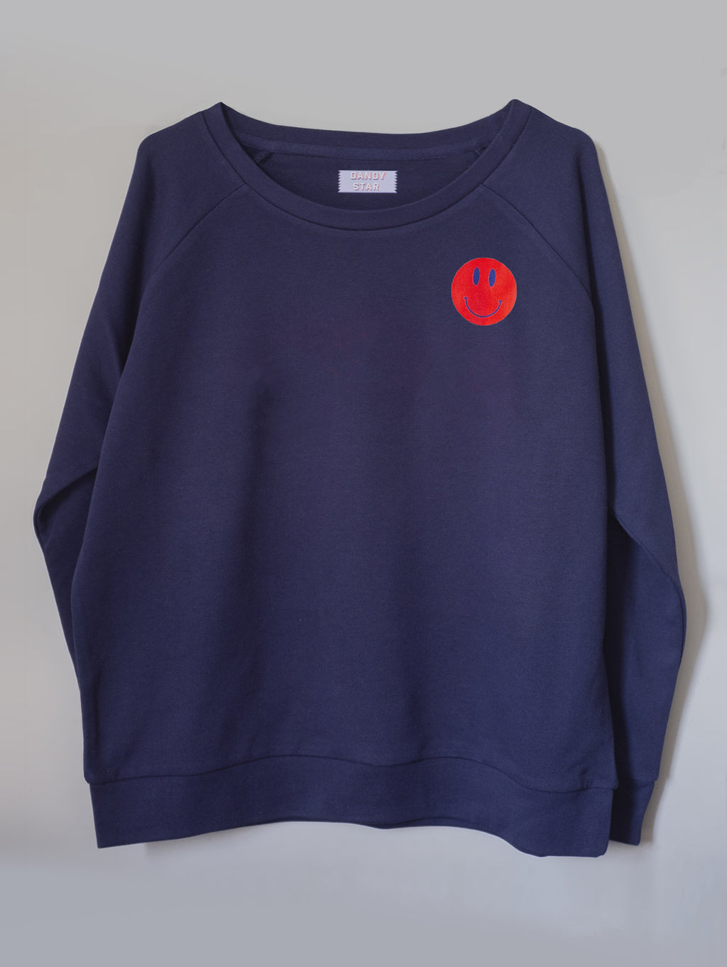 SMILEY CLASSIC NAVY SWEATSHIRT