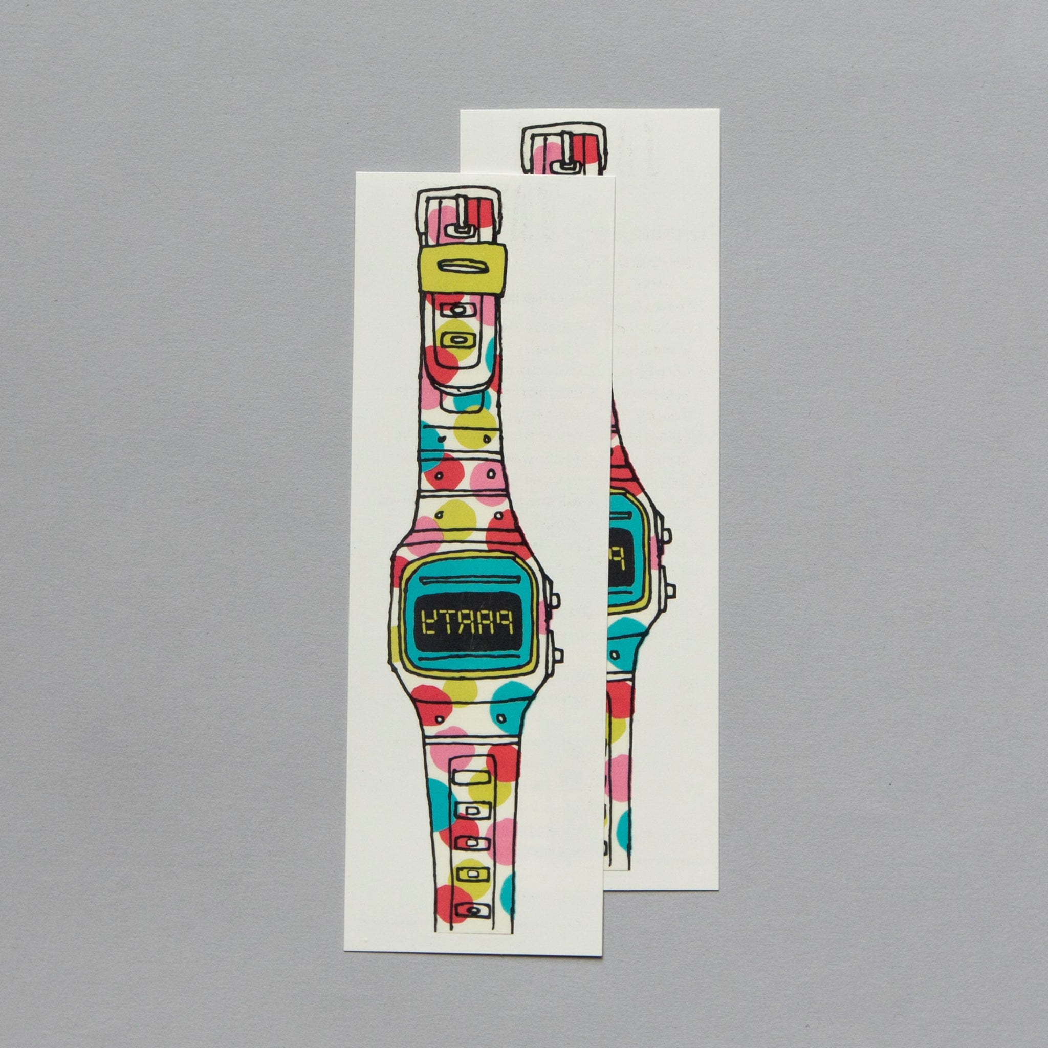 TATTLY PARTY WATCH SET OF 2