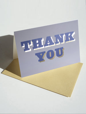 DANDY STAR THANK YOU CARD