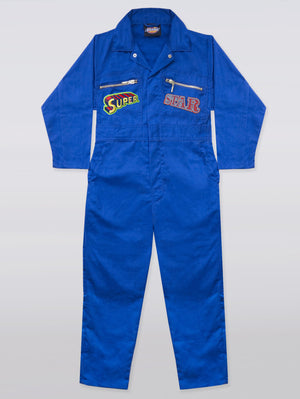 CUSTOM WORKWEAR WITH 4 PATCHES : KIDS