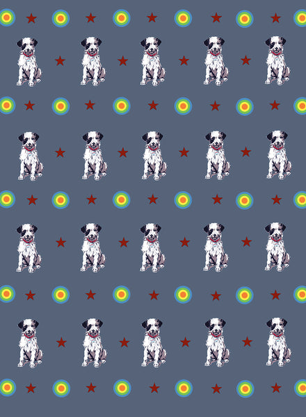 DOG WRAP - SINGLE SHEET AS ADD ON ORDER / 5 OR 10 SHEETS - Dandy Star
