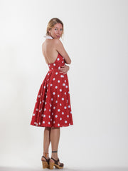 Vintage Red Marilyn Monroe Polka Dot Dress - Approx. US Size 2