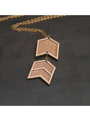 Military Chevron Necklace