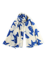 Wool Whale Scarf