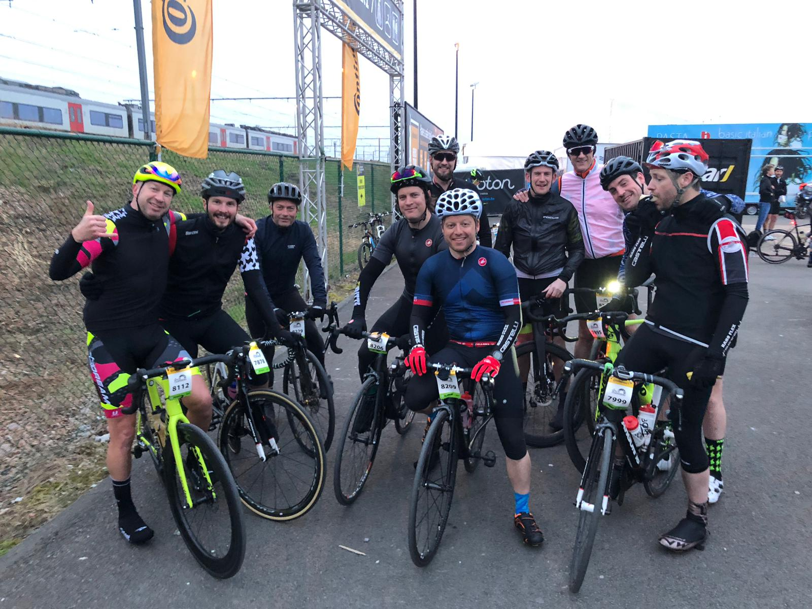 Tour of Flanders Sportive 2019 - Paul, searching for strava segments