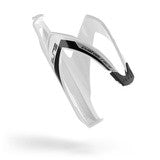 Elite Custom Race Resin Bottle Cage White-Black