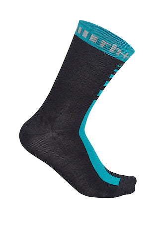 Merino 15 Sock Water Green