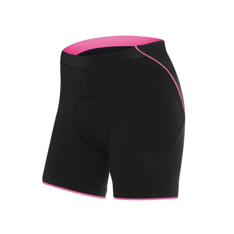 Fusion Womens II Shorts Black & Deep Pink