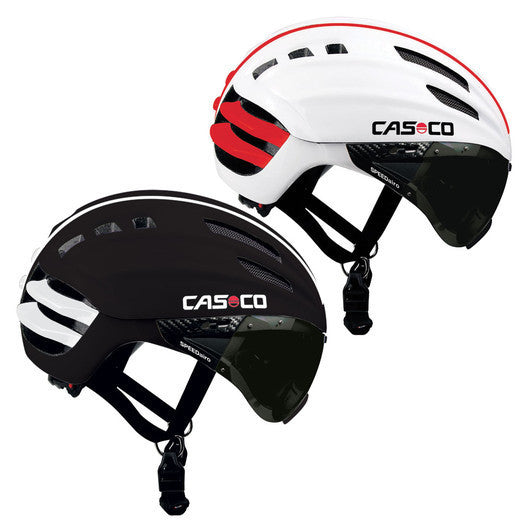 Casco SPEEDairo White/Red