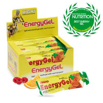 High5 Energy Gel Plus 20x38g