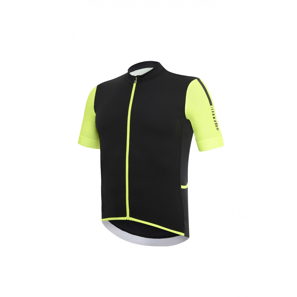 RH+ Hero Short Sleeve in Black-Fluo Yellow