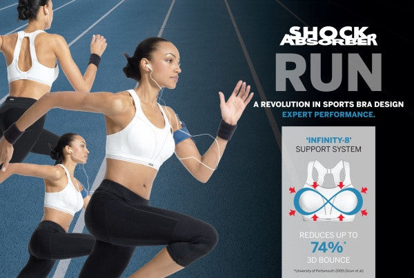 Shock Absorber Running Bra