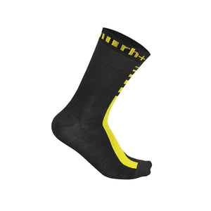 Merino Sock 15 Flo Yellow