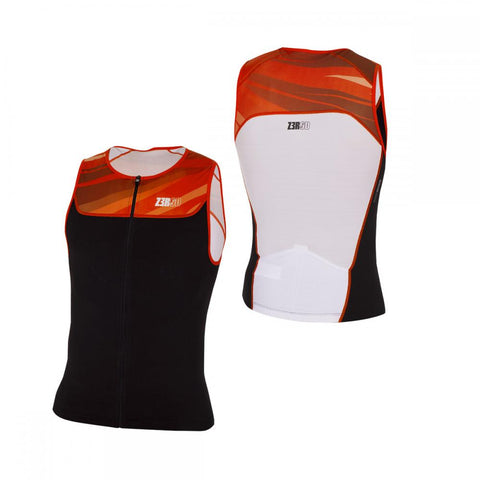 Start Tri Top Black/Orange