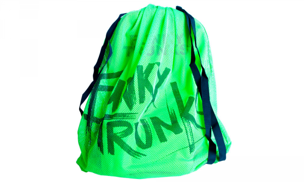 Funky Mesh Bag Green