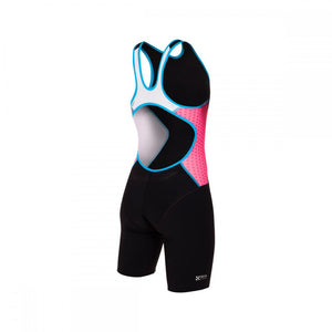 Racer Trisuit female Pink/Atoll