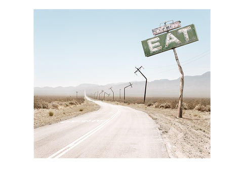 Print - Death Valley Eat