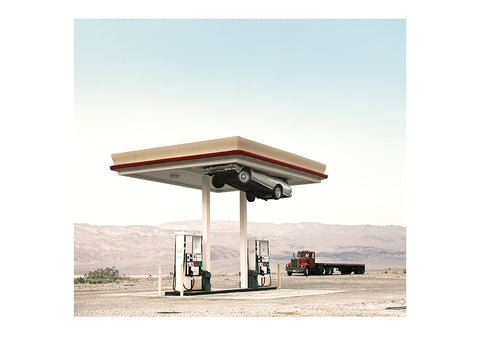 Print - Death Valley Gas