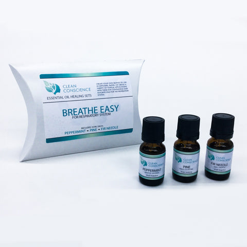 BREATHE EASY ESSENTIAL OIL KIT