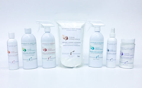 STARTER KIT - NATURAL CLEANING PRODUCTS