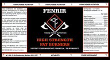 Load image into Gallery viewer, Fenrir Extra Strong Fat Burners 60 tablets