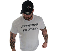 Load image into Gallery viewer, White viking forge Tshirt