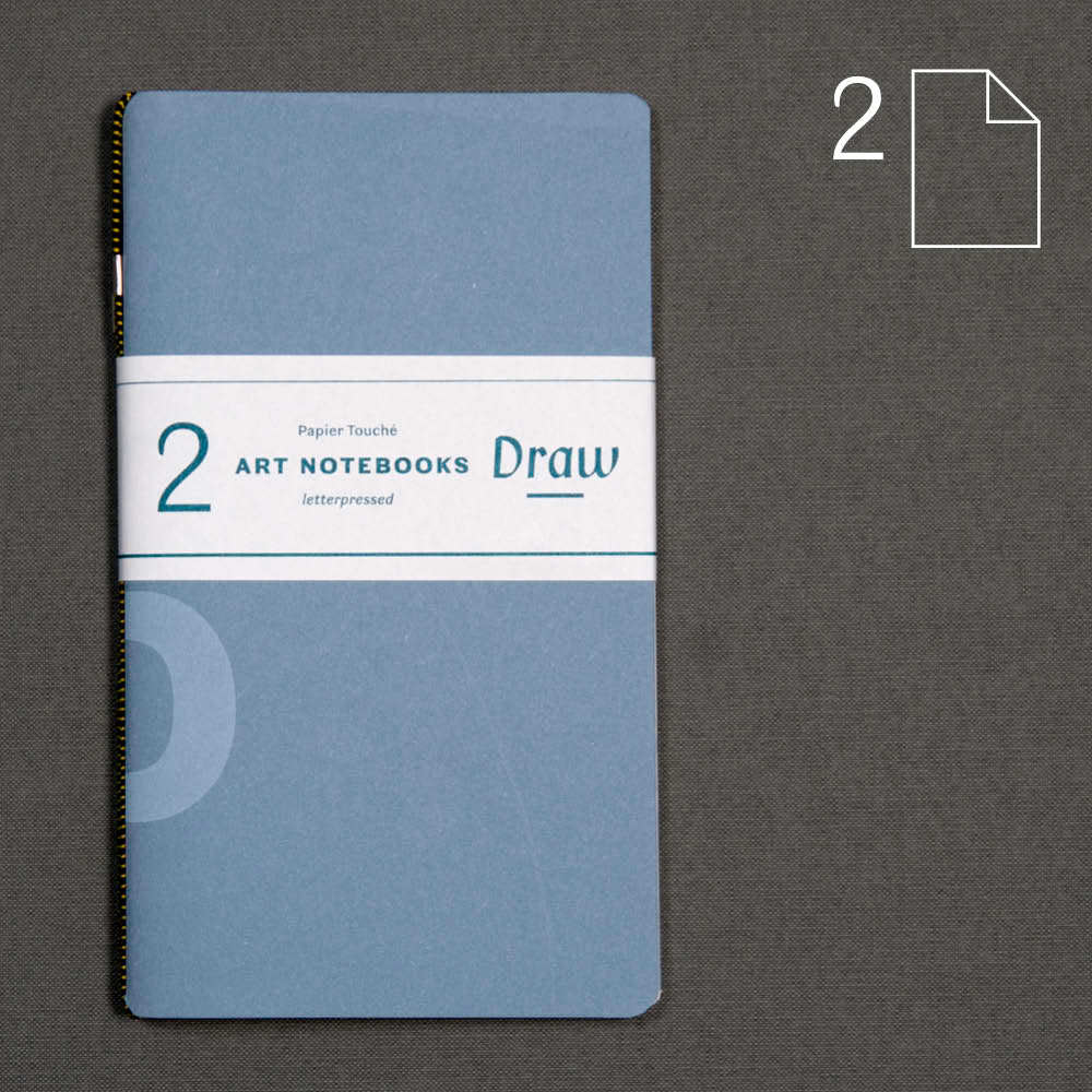 Draw: set of 2 notebooks