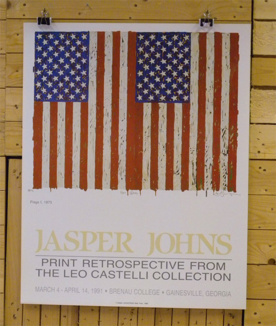 Johns, Jasper — Flags I
