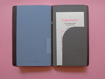 Leather notebook cover — 2 colours