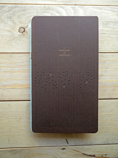 Blue / Brown: set of 2 notebooks