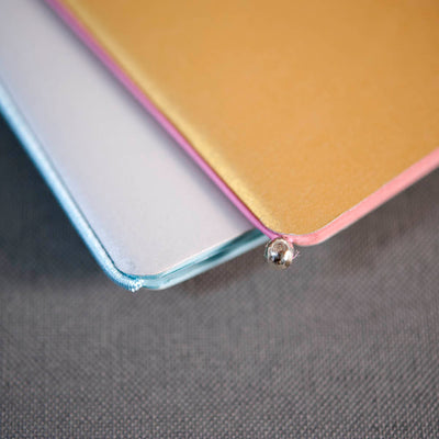 Silver / Gold: set of 2 notebooks