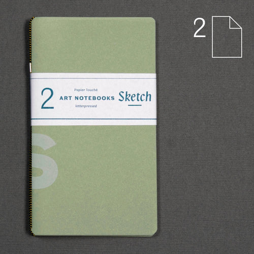 Sketch — set of 2 notebooks