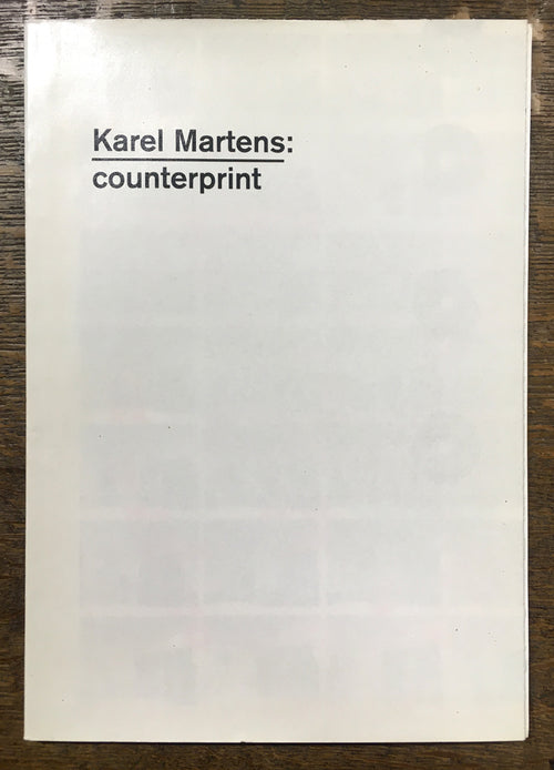Martens, Karel  : Counterprint