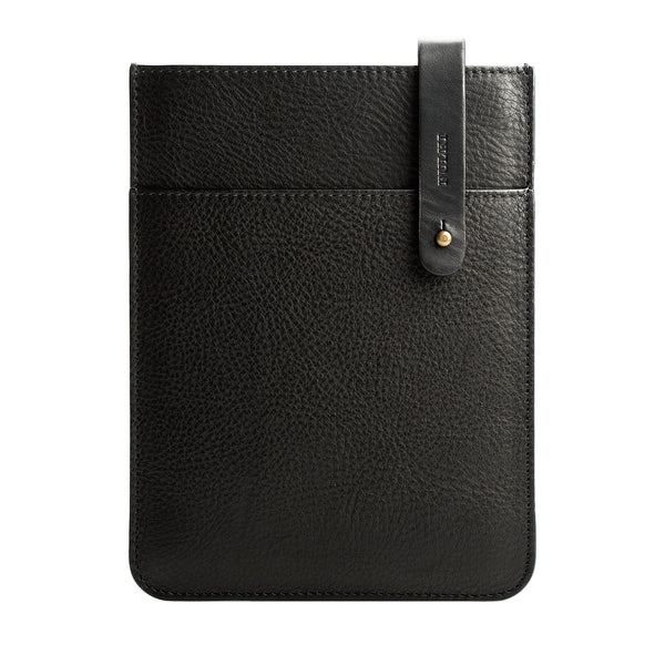 iPad Mini Leather Sleeve in Black
