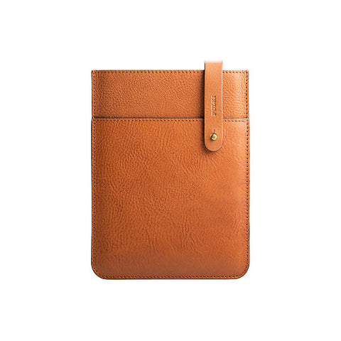 iPad Mini Leather Sleeve in Cuoio