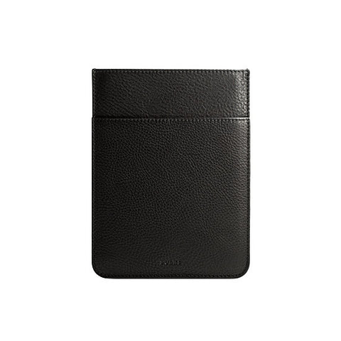 iPad Mini Leather Pocket Sleeve in Black
