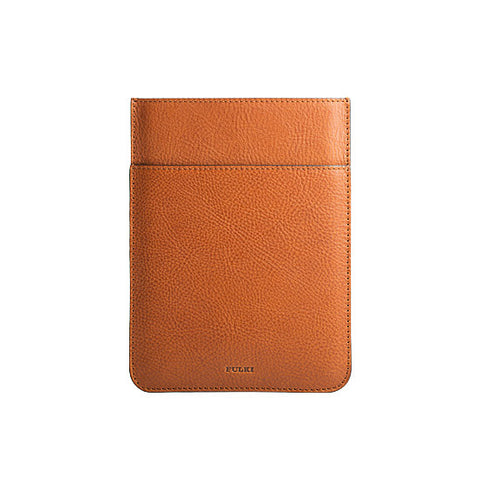 iPad Mini Leather Pocket Sleeve in Cuoio