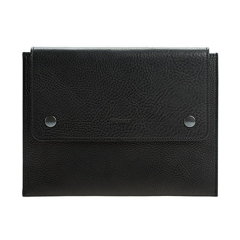 iPad Leather Case in Black