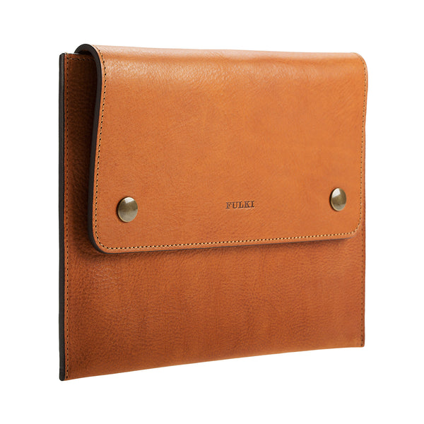 iPad Leather Case in Cuoio