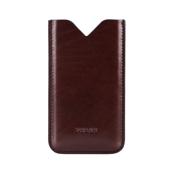 Leather iPhone 5/5s Case in Coffee