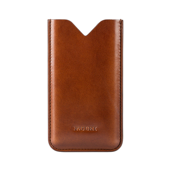 Leather iPhone 5 Case in Cognac