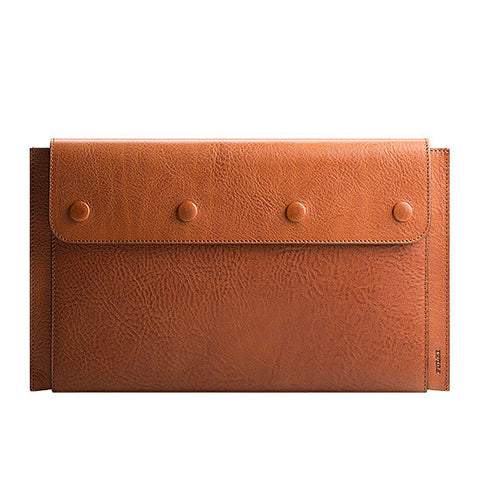 "Leather MacBook Air 11"" Portfolio in Cuoio"