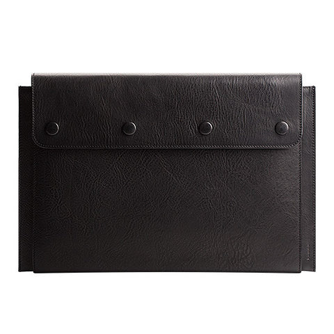 "Leather MacBook Air 13"" Portfolio in Black"