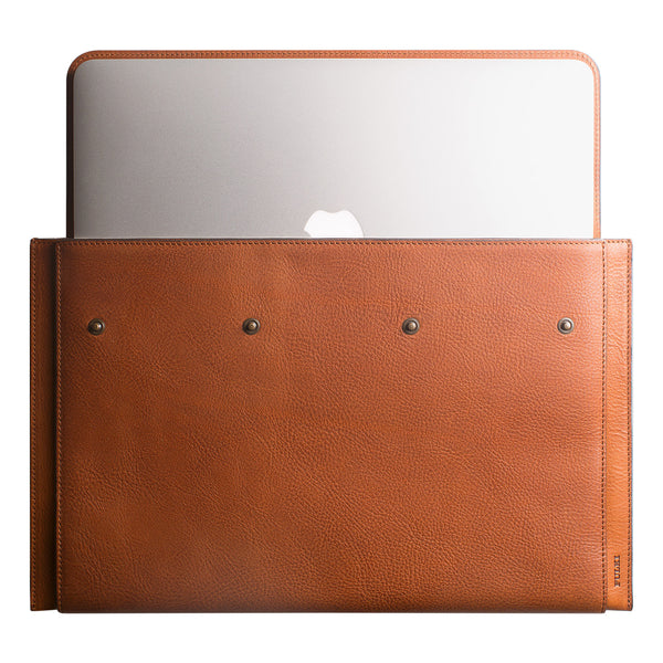 "Leather MacBook Air 13"" Portfolio in Cuoio"