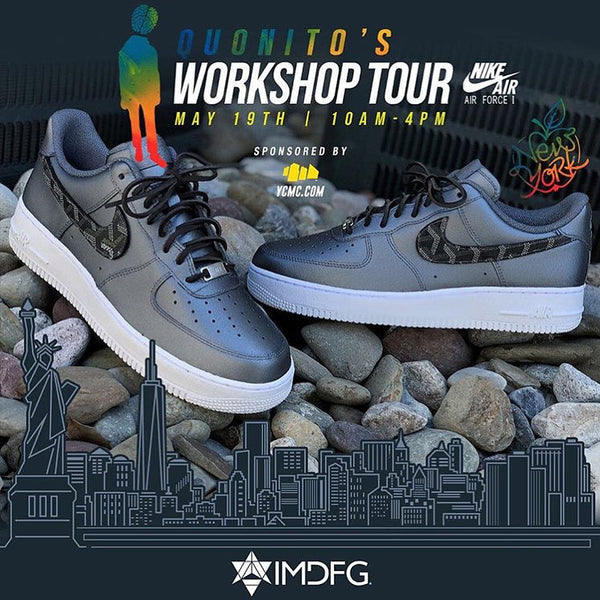 "YCMC x Quonito ""Sneaker Customization"" Workshop New York City"