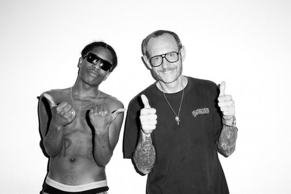 A$AP Rocky x Terry Richardson's Studio