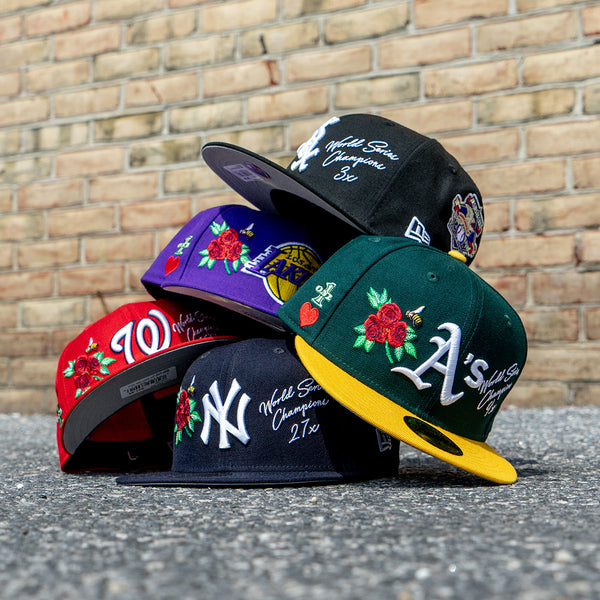 Stop and Smell the Roses with the New Era Championship 59Fifty Collection